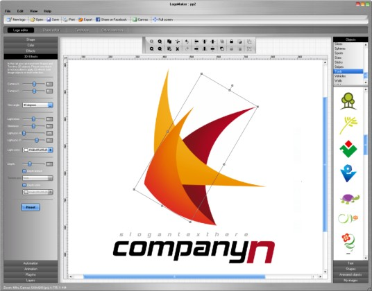 Logo software logo maken logo design logo ontwerpen for Programmi design