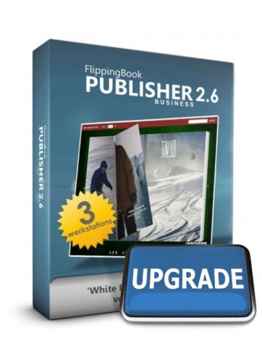 Upgrade Online Publisher Professional -> Business